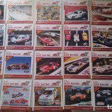 Slot Cars: COLECCIÓN GUIA SLOT RACING, COMPLETA, DIFÍCIL. EXIN, FLY, SLOT.IT, NINCO, CARRERA.... Lote 210566351