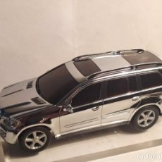 Slot Cars: MERCEDES GL-KLASSE CROMADO DE CARRERA. Lote 210619587
