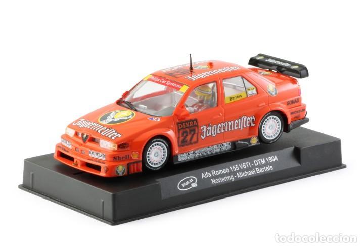 Slot Cars: SLOT.IT ALFA ROMEO 155 V6 TI #27 JAGERMEISTER DTM 1994 NORISRING MICHAEL BARTELS CA35B - Foto 7 - 210721929