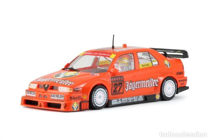 Slot Cars: SLOT.IT ALFA ROMEO 155 V6 TI #27 JAGERMEISTER DTM 1994 NORISRING MICHAEL BARTELS CA35B - Foto 2 - 210721929