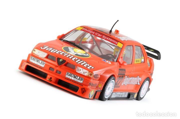 Slot Cars: SLOT.IT ALFA ROMEO 155 V6 TI #27 JAGERMEISTER DTM 1994 NORISRING MICHAEL BARTELS CA35B - Foto 4 - 210721929