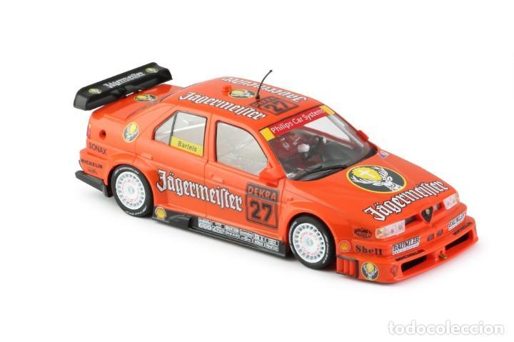Slot Cars: SLOT.IT ALFA ROMEO 155 V6 TI #27 JAGERMEISTER DTM 1994 NORISRING MICHAEL BARTELS CA35B - Foto 5 - 210721929