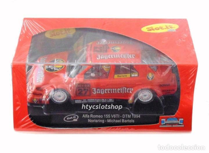 Slot Cars: SLOT.IT ALFA ROMEO 155 V6 TI #27 JAGERMEISTER DTM 1994 NORISRING MICHAEL BARTELS CA35B - Foto 8 - 210721929