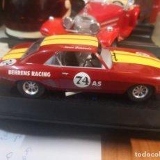 Slot Cars: COCHE PISTA HORNBY 1/32 SLOT CAR C2740-CHEVY CAMARO 74 BEHRENS RAC. Lote 211441470