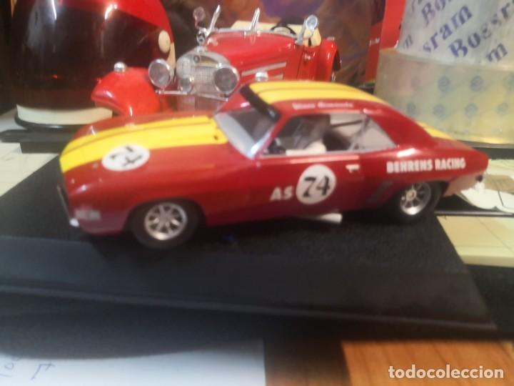 Slot Cars: Coche pista Hornby 1/32 Slot Car C2740-Chevy Camaro 74 Behrens Rac - Foto 3 - 237405400