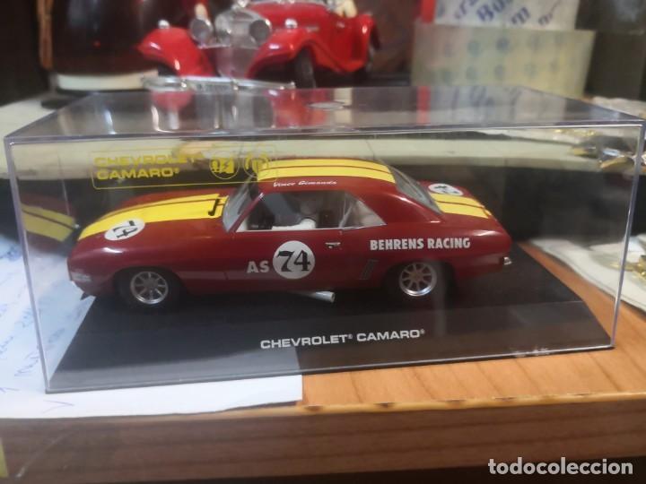 Slot Cars: Coche pista Hornby 1/32 Slot Car C2740-Chevy Camaro 74 Behrens Rac - Foto 8 - 237405400