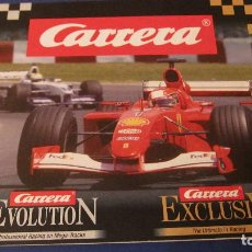 Slot Cars: CARRERA SLOT: CATALOGO EVOLUTION Y EXCLUSIV DE 2003. 16 PAGINAS. Lote 211648318