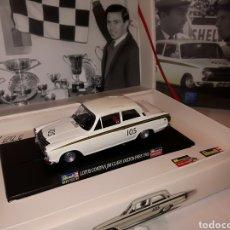 Slot Cars: REVELL MONOGRAM LOTUS CORTINA JIM CLARK OULTON PARK 1965. Lote 211672149