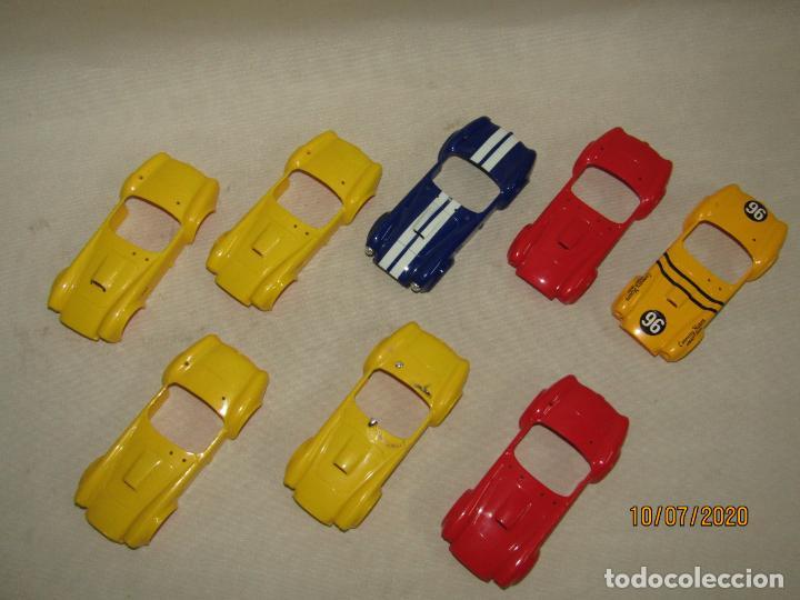 Slot Cars: Antiguo Lote de Carrocerias Pruebas de Molde, Montaje y Tampogaria del SHELBI AC COBRA de REPROTEC - Foto 2 - 211694441
