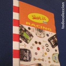 Slot Cars: SLOT.IT: RACING CATALOGO DESPLEGABLE 5 PARTES TODOS LOS REPUESTOS. Lote 211862470
