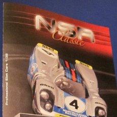 Slot Cars: NSR CLASSIC: PORSCHE 917 K .CATALOGO EXPLICATIVO DIPTICO. Lote 211862782