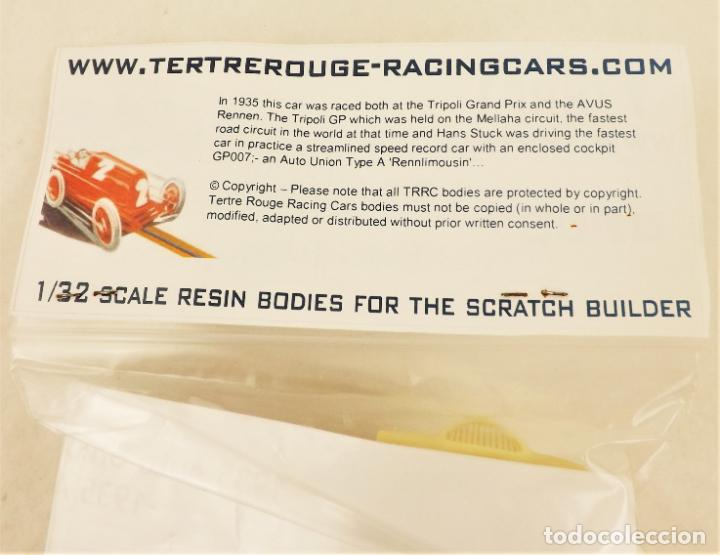 Slot Cars: Slot resina de TRRC Auto Union Rennlimousin del 35 - Foto 3 - 211863395