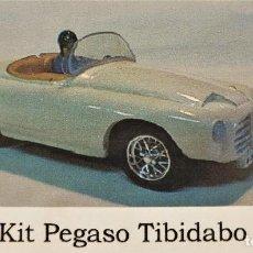 Slot Cars: RESINA SLOT A2M PEGASO TIBIDABO TOURING KIT COMPLETO. Lote 211864640