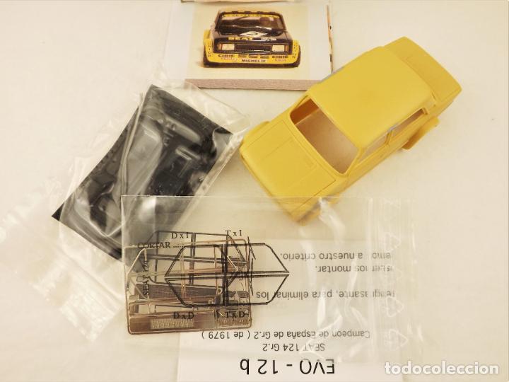 Slot Cars: Evolution Slot Resina SEAT 124 Gr.2 - Foto 2 - 211865717