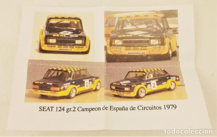 Slot Cars: Evolution Slot Resina SEAT 124 Gr.2 - Foto 4 - 211865717