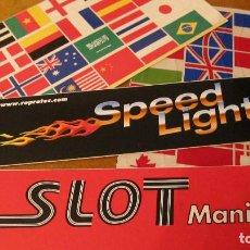 Slot Cars: LOTE ADHESIVOS : BANDERAS Y OTROS PARA SLOT. Lote 211953926