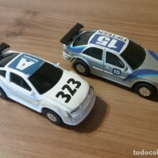 Slot Cars: 2 COCHES DE SLOT J2 OPEL CALIBRA Y BMW. Lote 211961518