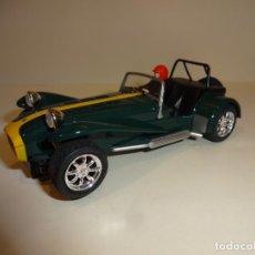 Slot Cars: SUPERSLOT. CATERHAM VERDE. Lote 212304418