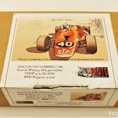 Slot Cars: PROTO SLOT RESINA CARROCERIA PAXTON STP TURBINE CAR. Lote 212395941
