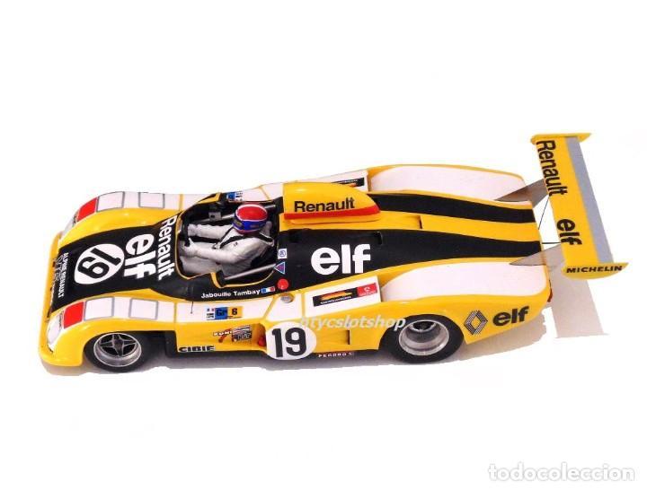 Slot Cars: LE MANS MINIATURES RENAULT ALPINE A442 #19 LE MANS 1976 TAMBAY / JABOUILLE 132076M - Foto 3 - 212629092