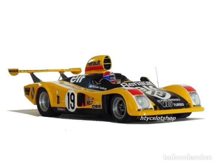 Slot Cars: LE MANS MINIATURES RENAULT ALPINE A442 #19 LE MANS 1976 TAMBAY / JABOUILLE 132076M - Foto 5 - 212629092