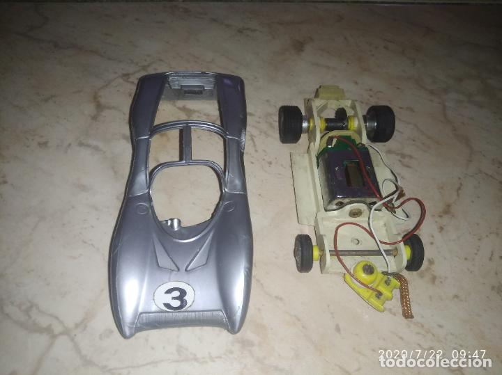 COCHE SCALEXTRIC POLICAR MADE IN ITALY (Juguetes - Slot Cars - Magic Cars y Otros)