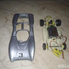 Slot Cars: COCHE SCALEXTRIC POLICAR MADE IN ITALY. Lote 212752040