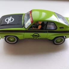 Slot Cars: ESPECTACULAR COCHE SCALEXTRIC DE CARRERA OPEL MANTA FE-2800. CON LUCES. Lote 213028903