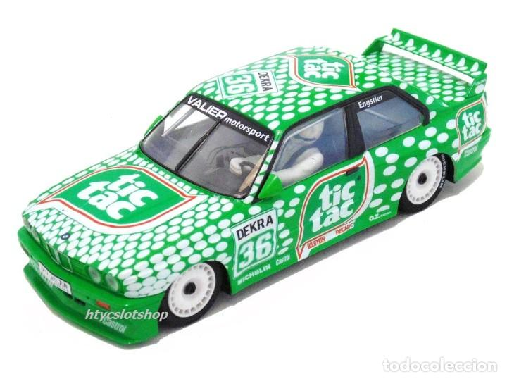 Slot Cars: SUPERSLOT BMW E30 M3 #36 TIC TAC FRANZ ENGSTLER DTM 1992 SCALEXTRIC UK H3865 - Foto 2 - 213167492
