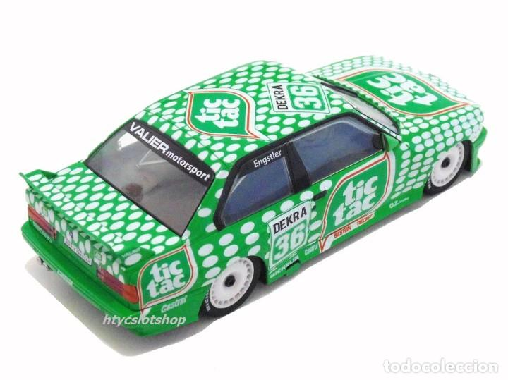 Slot Cars: SUPERSLOT BMW E30 M3 #36 TIC TAC FRANZ ENGSTLER DTM 1992 SCALEXTRIC UK H3865 - Foto 4 - 213167492