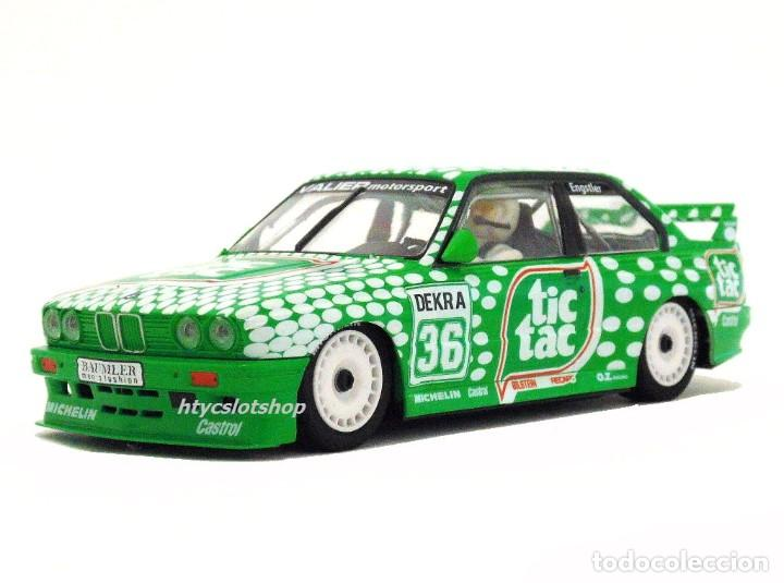 Slot Cars: SUPERSLOT BMW E30 M3 #36 TIC TAC FRANZ ENGSTLER DTM 1992 SCALEXTRIC UK H3865 - Foto 5 - 213167492