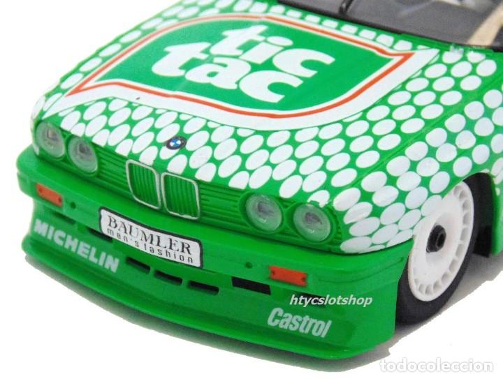 Slot Cars: SUPERSLOT BMW E30 M3 #36 TIC TAC FRANZ ENGSTLER DTM 1992 SCALEXTRIC UK H3865 - Foto 8 - 213167492