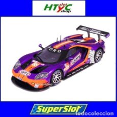 Slot Cars: SUPERSLOT FORD GTE #85 WINN´S LE MANS 2019 KEATING / BLEEKEMOLEN / FRAGA SCALEXTRIC UK H4078. Lote 213190521