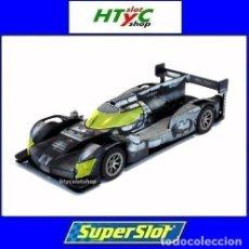 Slot Cars: SUPERSLOT GINETTA G60-LT-P1 BATMAN CAR SCALEXTRIC UK H4140. Lote 213422480