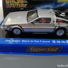 Slot Cars: DELOREAN BACK TO THE FUTURE DE SUPERSLOT. Lote 213437282