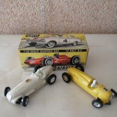Slot Cars: ANTIGUOS MERCEDES BENZ AIRFIX MOTOR RECING. Lote 213461880