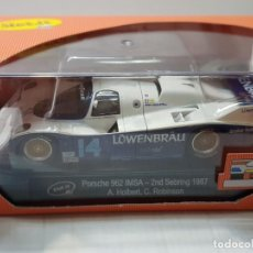 Slot Cars: COCHE SLOT IT PORSCHE 962 IMSA LÖWERBRÄU EN BLISTER DIFICIL. Lote 213885868