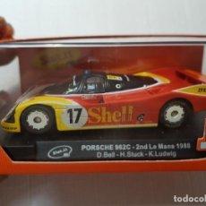 Slot Cars: COCHE SLOT IT PORSCHE 962C SHELL EN BLISTER DIFICIL. Lote 213886255
