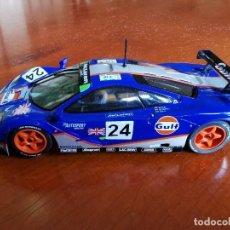 Slot Cars: SLOT HORNBY MCLAREN F1 GTR GULF - NUEVO - N66. Lote 214559992