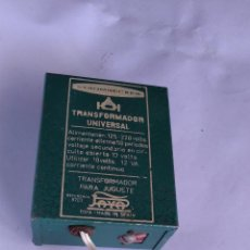 Slot Cars: STROMBECKER PAYÁ TRANSFORMADOR SLOT. FUNCIONA. Lote 215834603