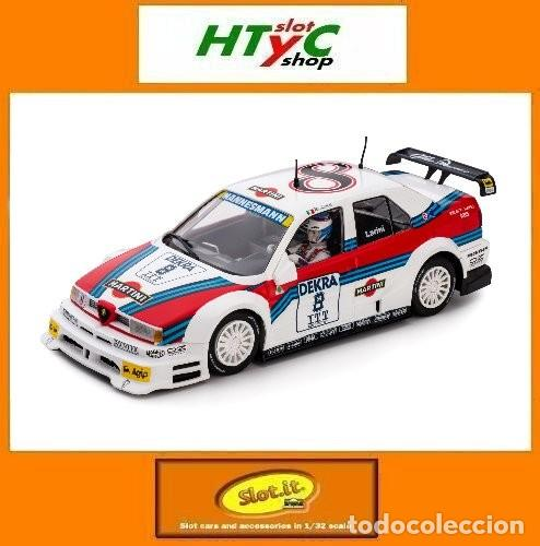 SLOT.IT ALFA ROMEO 155 V6 TI #8 NICOLA LARINI MARTINI DTM 1995 AVUS RING CA40A (Juguetes - Slot Cars - Magic Cars y Otros)
