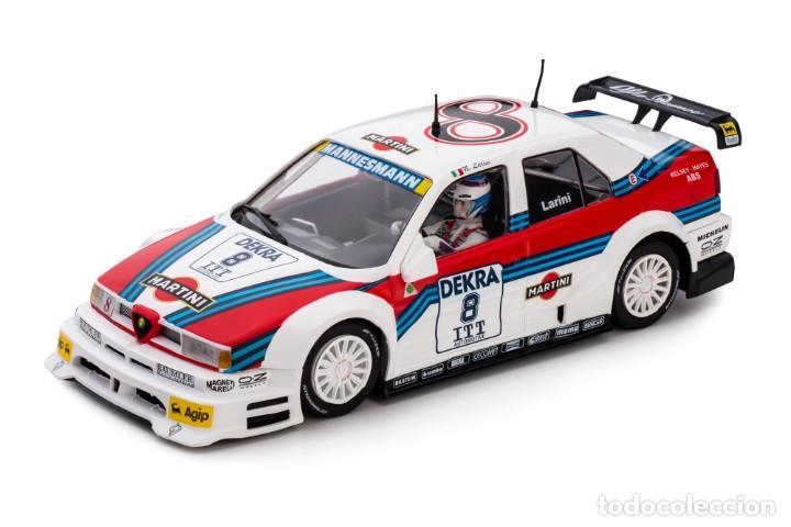 Slot Cars: SLOT.IT ALFA ROMEO 155 V6 TI #8 NICOLA LARINI MARTINI DTM 1995 AVUS RING CA40A - Foto 2 - 216433271