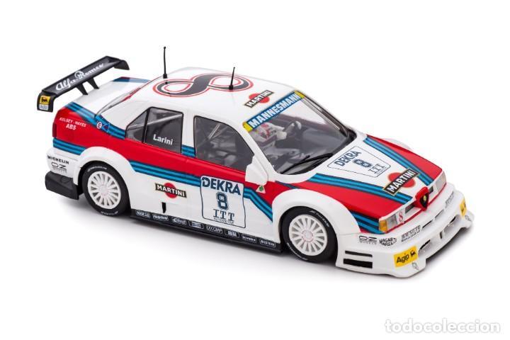 Slot Cars: SLOT.IT ALFA ROMEO 155 V6 TI #8 NICOLA LARINI MARTINI DTM 1995 AVUS RING CA40A - Foto 3 - 216433271