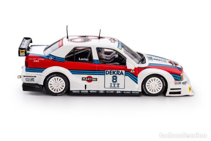 Slot Cars: SLOT.IT ALFA ROMEO 155 V6 TI #8 NICOLA LARINI MARTINI DTM 1995 AVUS RING CA40A - Foto 5 - 216433271