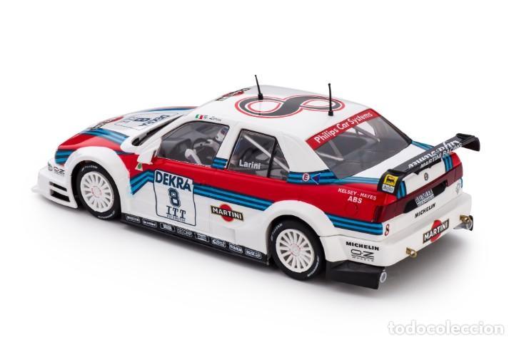 Slot Cars: SLOT.IT ALFA ROMEO 155 V6 TI #8 NICOLA LARINI MARTINI DTM 1995 AVUS RING CA40A - Foto 6 - 216433271