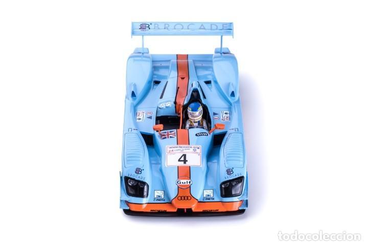Slot Cars: SLOT.IT AUDI R8 LMP GULF #4 LE MANS 2001 CORONEL / LEMARIE / JOHANSSON CA33B - Foto 8 - 216437030