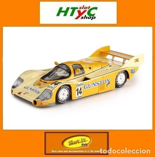 SLOT.IT PORSCHE 956 KH #14 KYALAMI 1000 KM 1983 GUNSTON LAMMERS / PALMER CA09I (Juguetes - Slot Cars - Magic Cars y Otros)