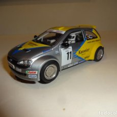 Slot Cars: SLOTER. OPEL CORSA GRIS. EJES CAMBIADOS. Lote 217042597