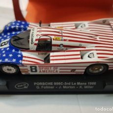 Slot Cars: COCHE SLOT IT PORSCHE 956C SPIRIT OF AMÉRICA BP EN BLISTER ORIGINAL. Lote 217368252