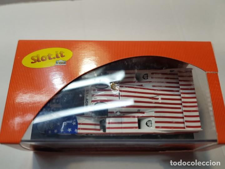 Slot Cars: Coche Slot it Porsche 956C Spirit Of América Bp en blister original - Foto 4 - 217368252
